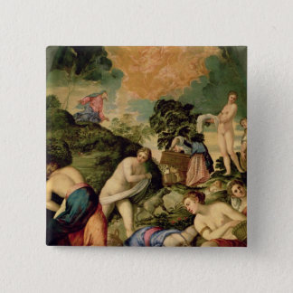 The Purification of the Midianite Virgins Pinback Button