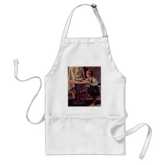 The Purification Of The Virgin DetailBy Guido Reni Adult Apron