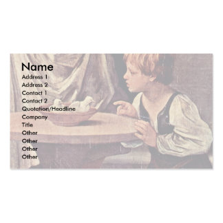 The Purification Of The Virgin DetailBy Guido Reni Business Card