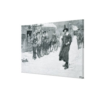 The Puritan Governor Canvas Print