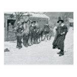 The Puritan Governor Postcard