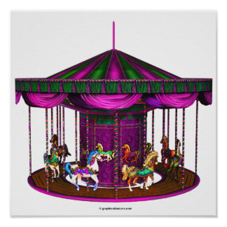 The Purple Carousel Posters