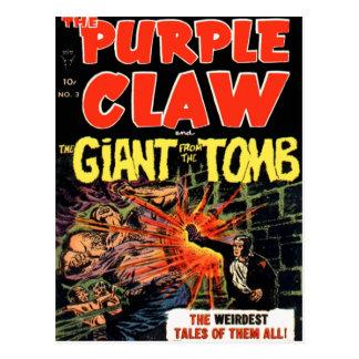 The Purple Claw #3 Postcard