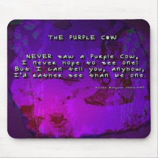 The Purple Cow Mousepads