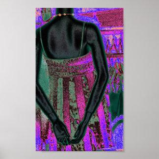 The Purple Dress Print
