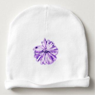 The Purple Flower Baby Beanie