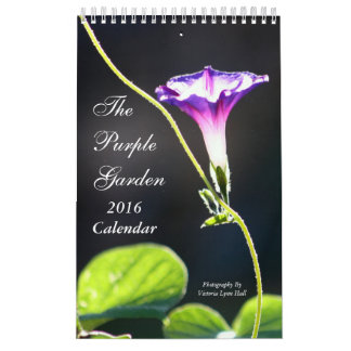 The Purple Garden 2016 Calendar