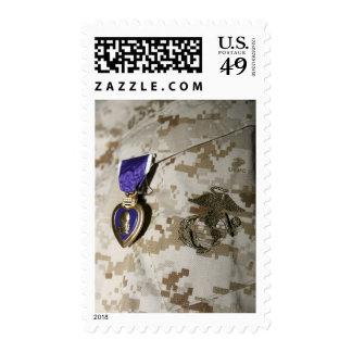 The Purple Heart Award Stamp