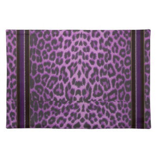 The Purple Leopard Collection Placemats