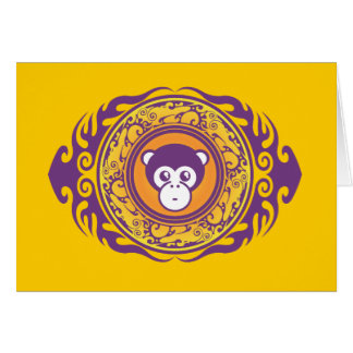 The Purple Monkey Card