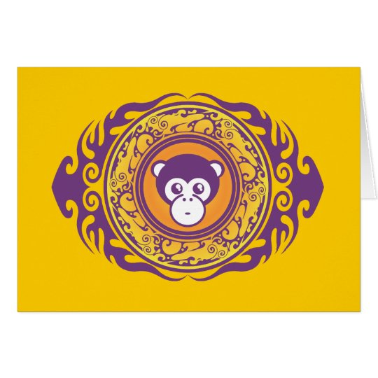 The Purple Monkey Card