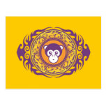 The Purple Monkey Post Card