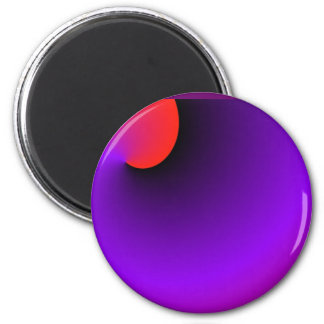 The Purple People Eater's eye 2 Inch Round Magnet
