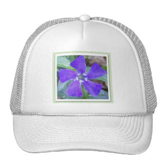 The Purple Pinwheel Flower Hat