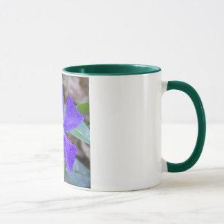 The Purple Pinwheel Flower Mug
