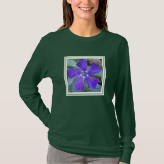 The Purple Pinwheel Flower T-Shirt