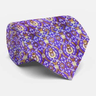 The Purple Raj - Indian Sari Fabric Tie