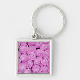 The purple rose experience keychain