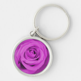 The purple rose experience key chain