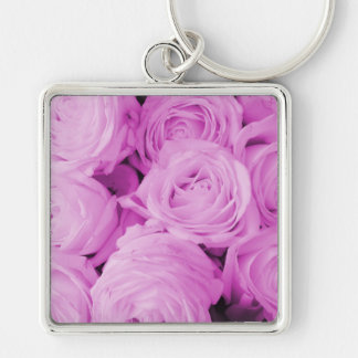 The purple rose experience keychains