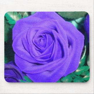 The Purple Rose Mouse pad