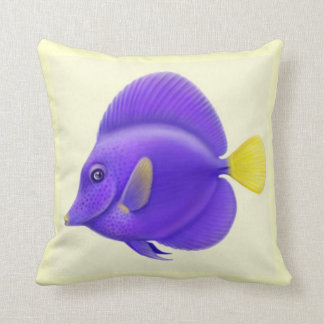 The Purple Sailfin Tang Fish Pillow