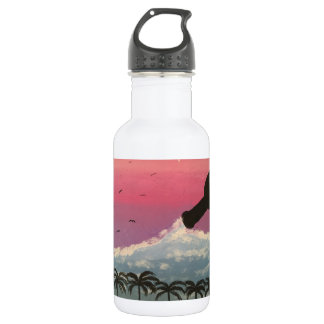 The purple weather water bottle