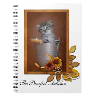 The Purrfect Autumn Notebook
