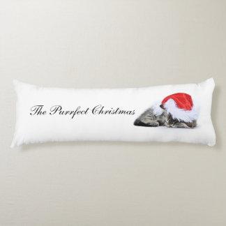 The Purrfect Christmas cushion