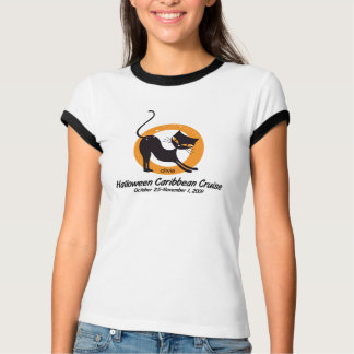 """The PURRfect Cruise"" Ladies Ringer T-Shirt"