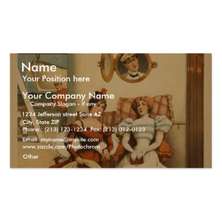 The Purser, 'We always call Him Reggie!' Retro The Double-Sided Standard Business Cards (Pack Of 100)