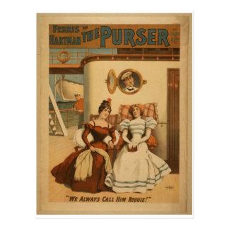 The Purser, 'We always call Him Reggie!' Retro The Postcard