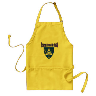 The pursuit of eternal life with God. the most imp Adult Apron