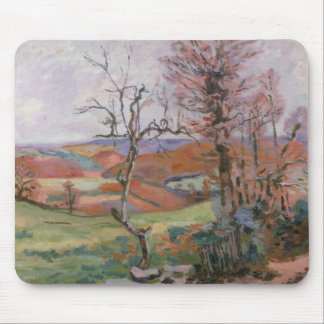 The Puy Barion at Crozant, Brittany (oil on canvas Mouse Pad