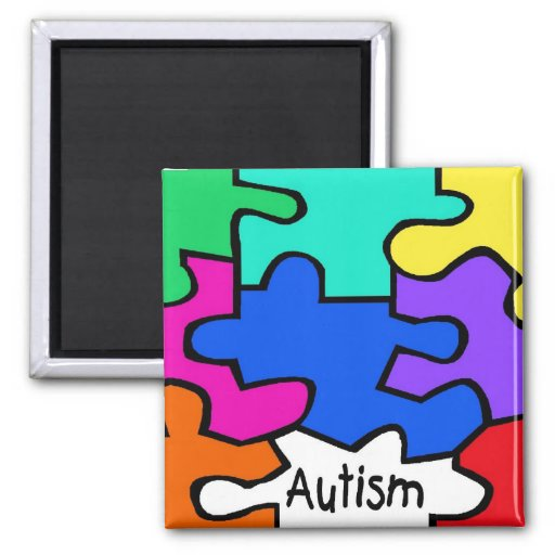 The Puzzle 2 Inch Square Magnet