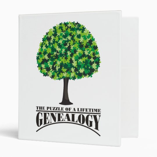 The Puzzle of A Lifetime 3 Ring Binder