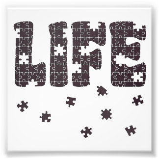The Puzzle Of Life Photo Art