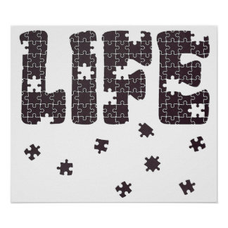 The Puzzle Of Life Posters