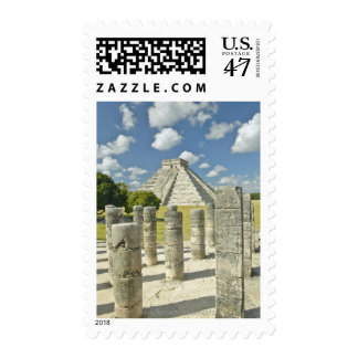 The Pyramid of Kukulkan Postage