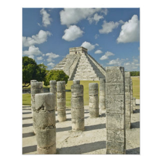 The Pyramid of Kukulkan Poster