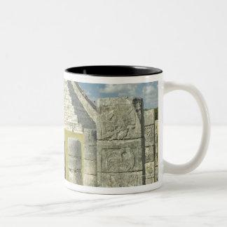 The Pyramid of Kukulkan Two-Tone Coffee Mug