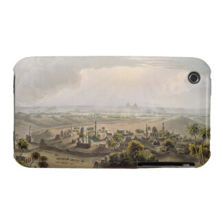 The Pyramids at Cairo, engraved by Daniel Havell ( iPhone 3 Case-Mate Cases