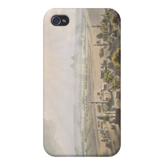 The Pyramids at Cairo, engraved by Daniel Havell ( iPhone 4 Case