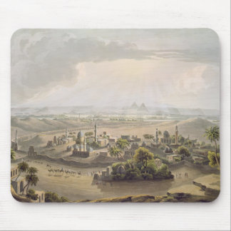 The Pyramids at Cairo, engraved by Daniel Havell ( Mouse Pad