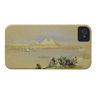The Pyramids at Giza near Cairo w c iPhone 4 Covers