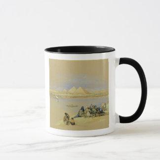 The Pyramids at Giza, near Cairo (w/c) Mug