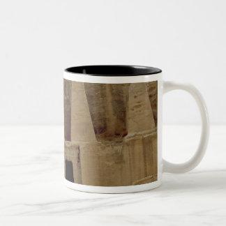 The Pyramids' Monument Two-Tone Coffee Mug
