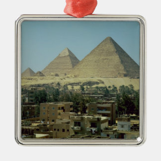 The Pyramids of Giza c 2589-30 BC Old Kingdom Christmas Tree Ornaments
