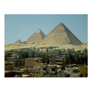 The Pyramids of Giza c 2589-30 BC Old Kingdom Postcards