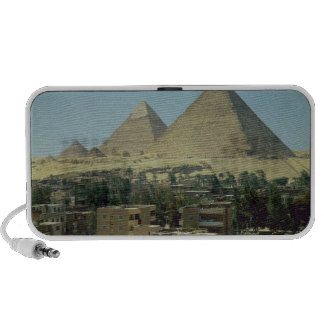 The Pyramids of Giza c 2589-30 BC Old Kingdom Laptop Speakers